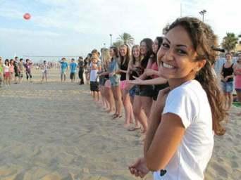Sprachkurs am Strand