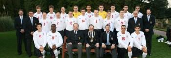 First U18 International at New Wembley