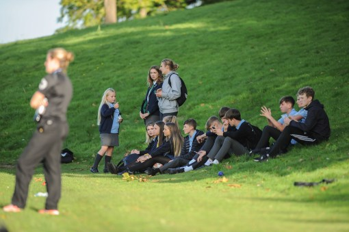 Summerhill School v Thomas Telford School in a English Schools FA Under 16 Premier League Cup 1st Round match at Summerhill School on Thursday 4th October 2018 (c) Garry Griffiths | ThreeFiveThree Photography