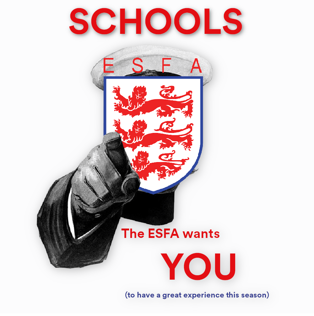 The ESFA Wants you 2