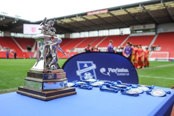Aldershot & Farnborough SFA v Hambleton & Richmond SFA in a English Schools Football Association Under 15 Boys Inter Association Trophy Final at bet365 Stadium on Wednesday 16th May 2018 (c) Garry Griffiths | ThreeFiveThree Photography