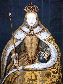 Queen Elizabeth I in her Coronation Robes