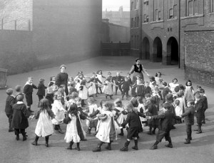 Children at School, 1908