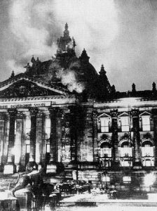 The Reichstag fire preempted the Enabling Act