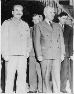 Truman and Stalin had very different ideological views