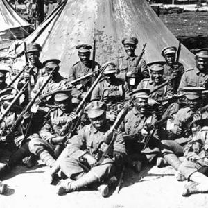 British West India Regiment. Black soldiers of the First World War