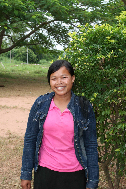 Kongdee er veldig glad for at hun igjennom skoleprosjektet vårt nå kan få lærerutdannelse
