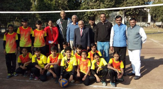 Panchkula District Volleyball Tournament Begins