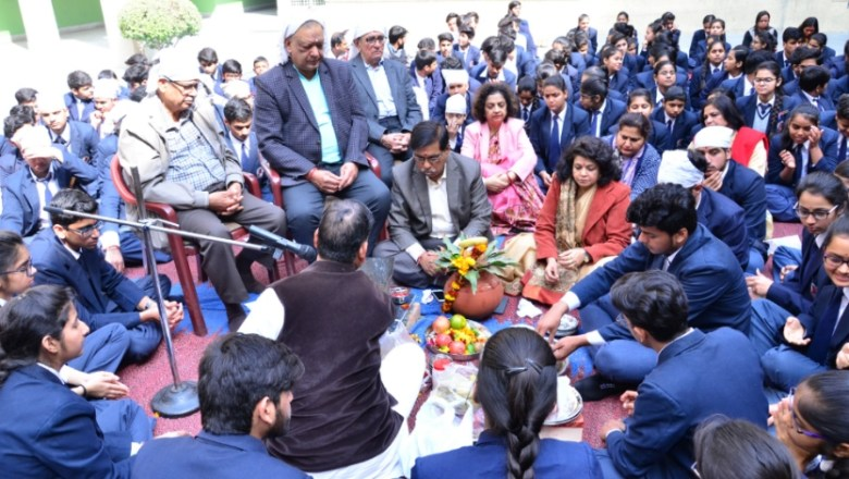 LPS Organises Blessing Ceremony For Class Xth & XII th Appearing Students