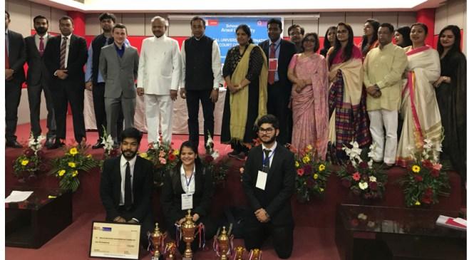 Symbiosis Law School Wins Ansal University International Moot Court Competition