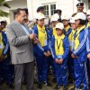Group of children from Sikkim called on DoNER Minister Dr Jitendra