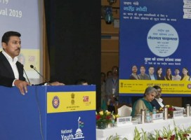 Col Rathore (Retd) inaugurates National Level Finals of National Youth Parliament Festival