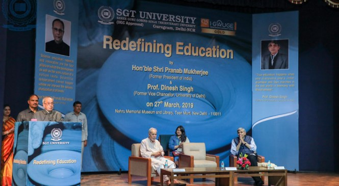 Redefining Education as the Need of the Hour : Pranab Mukherjee