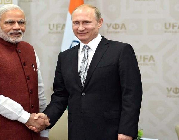 Prime Minister Narendra Modi Speaks Russian President Vladimir Putin