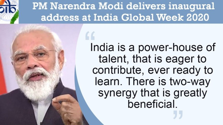India is a power-house of talent that is eager to contribute : Narendra Modi