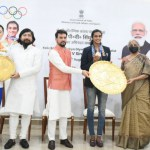 Olympic Medalist PV Sindhu receives an unforgettable welcome home