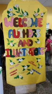 On the day of the event, everything was color and excitement. Kids signed in at the door. Refreshments beckoned.