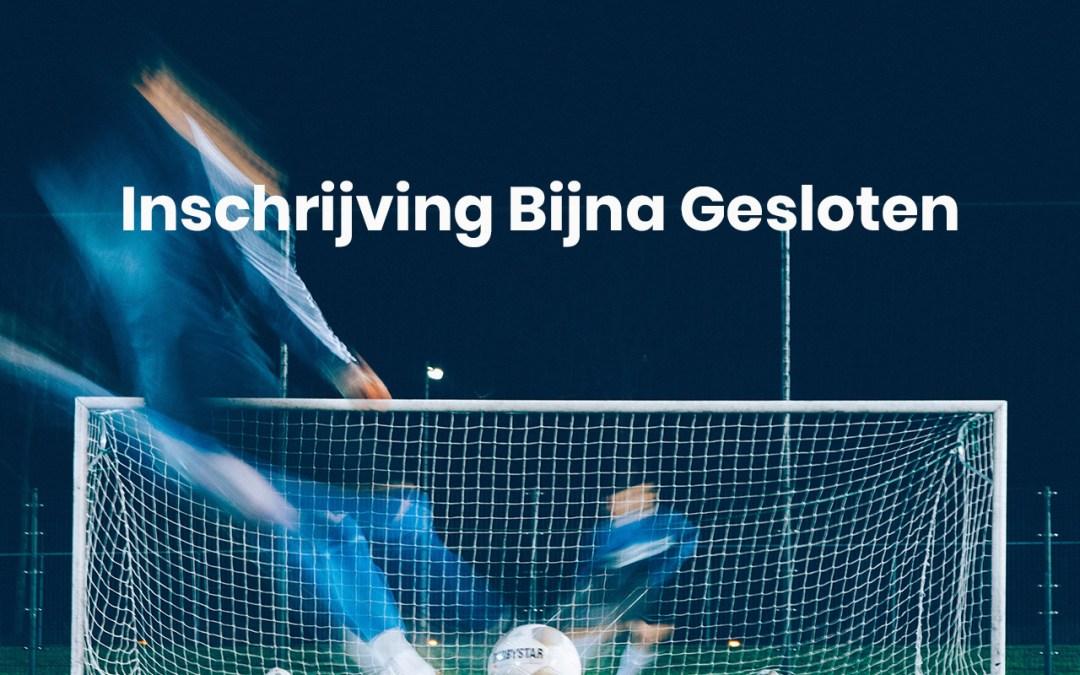 Laatste Dag Inschrijven KNVB Schoolvoetbal Almere 2020