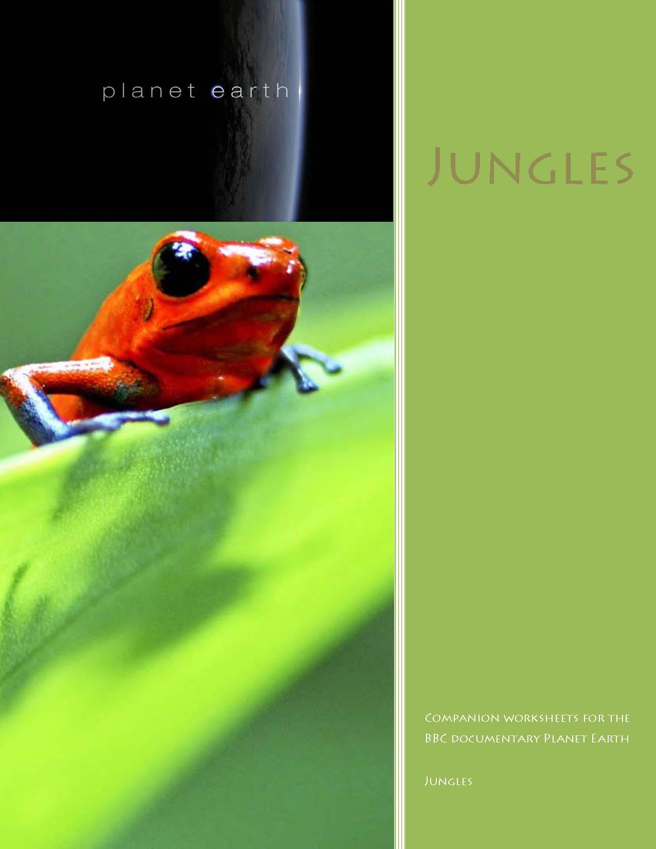 Bbc Planet Earth Worksheets Jungles