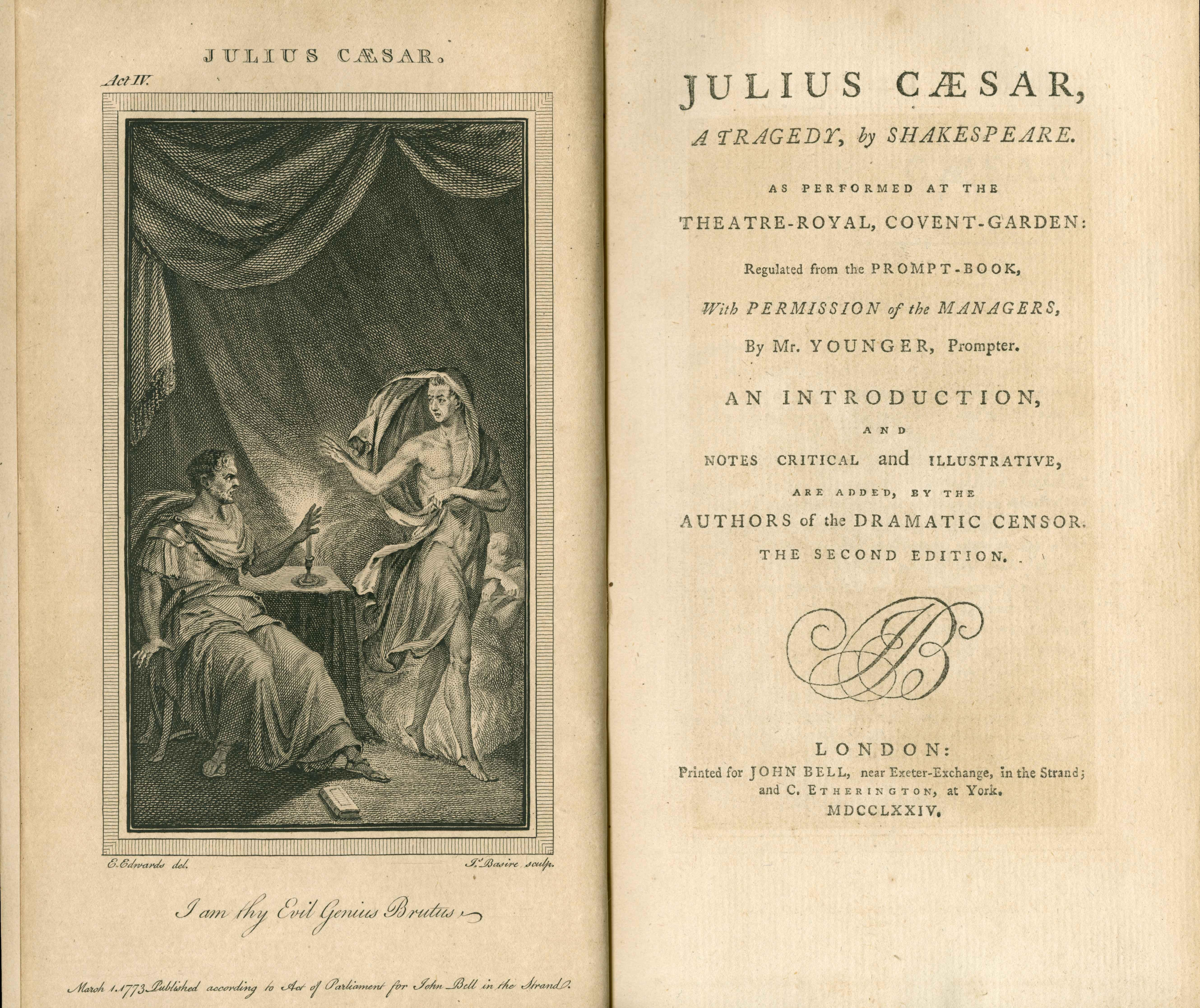 William Shakespeare S Julius Caesar Plot Summary
