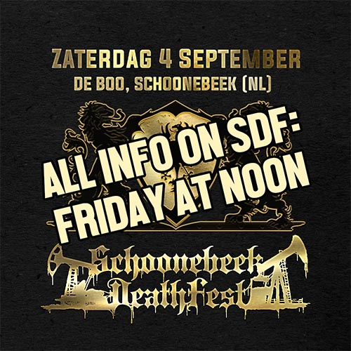 All info on SDF 2021: Friday at noon!