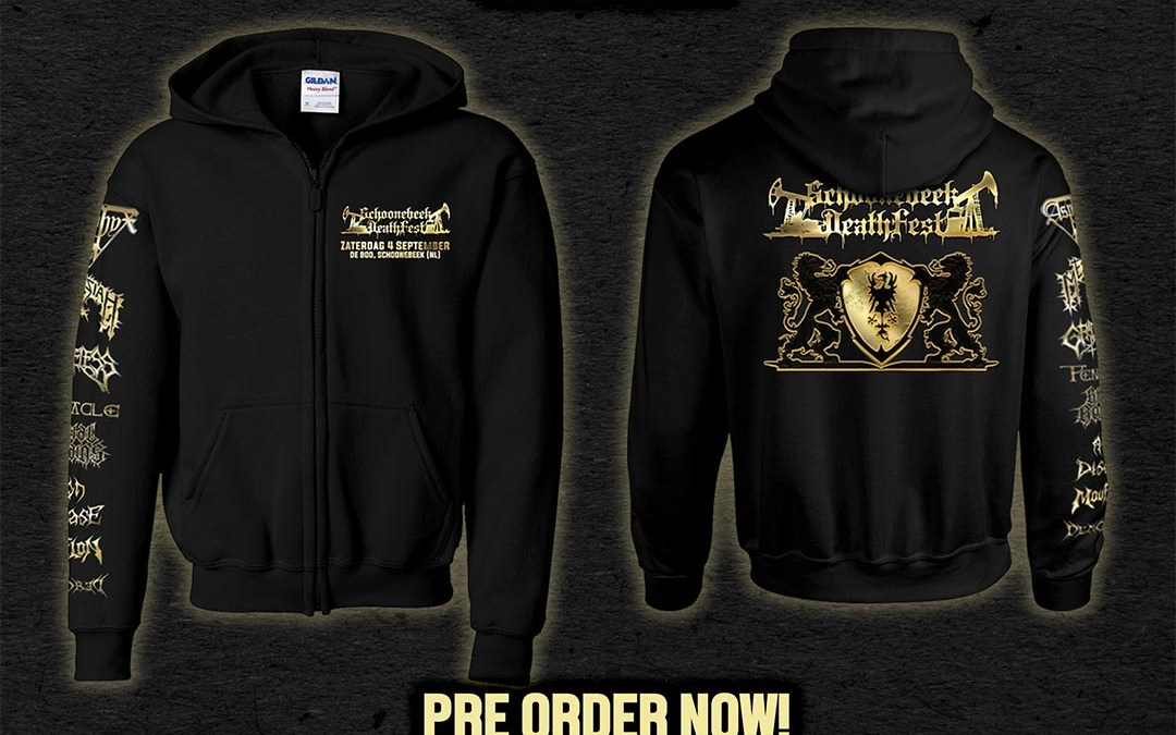 SDF 2021 Zip Hoodie available for pre-order