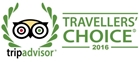 2016 Travellers' Choice badge award