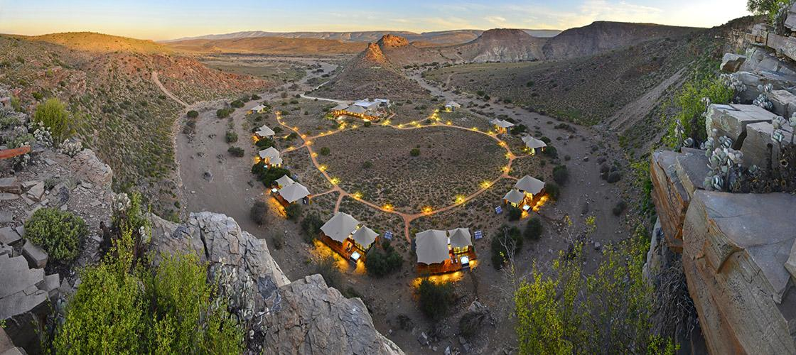 Sanbona Wildlife Reserve in the Little Karoo, South Africa