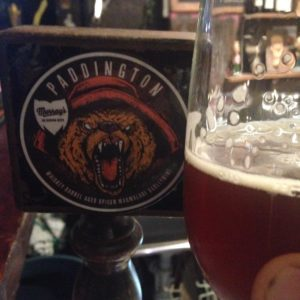 Murray's Paddington Marmalade Barleywine - a big bear of a beer