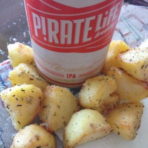 Potatoes & Pirate Life - two of my favourite 'P's.