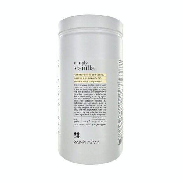 Rainpharma rainshakes simply vanilla XL