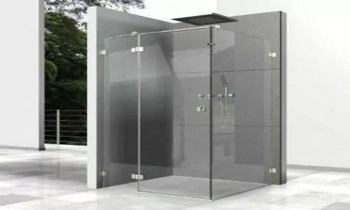 glazen douchedeur ontkalken