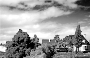 1/72 normandy diorama 073 bw