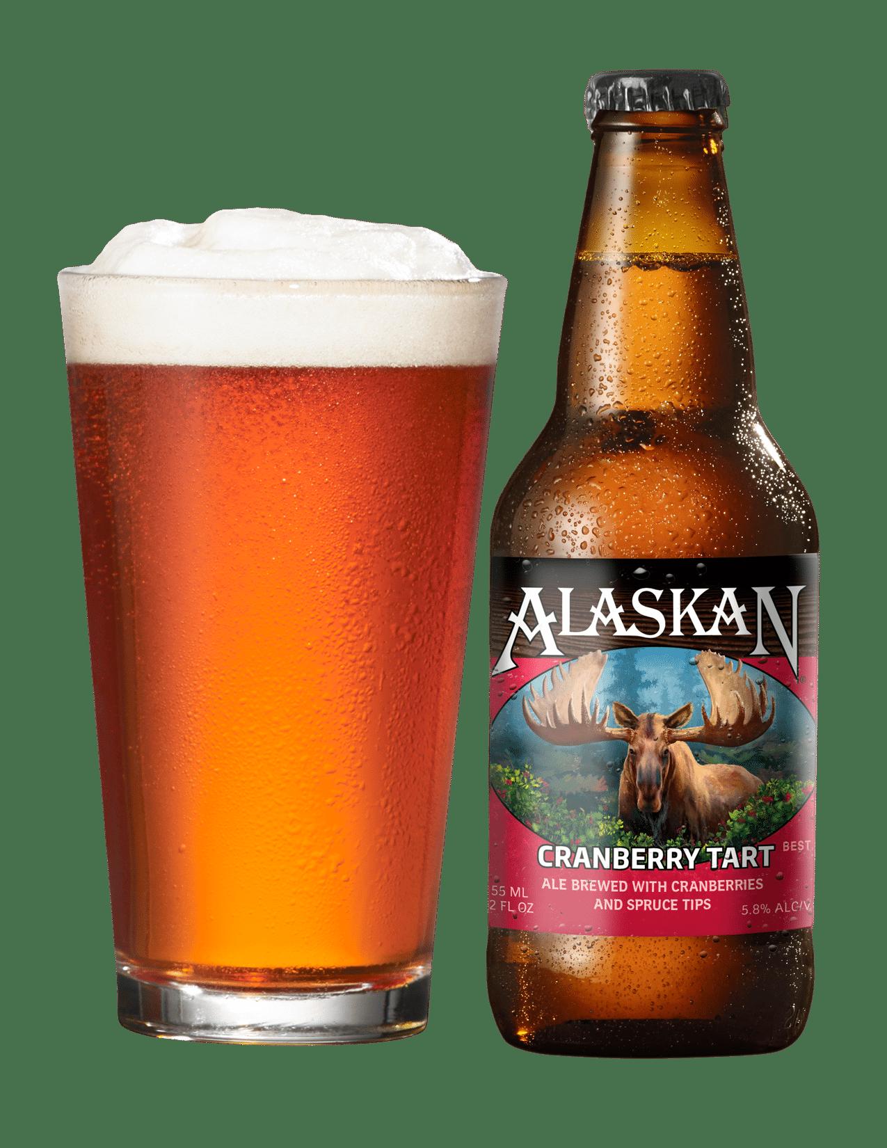 Alaskan Cranberry Tart Image