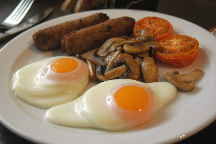 In Schottland isst man oft warmes Essen zum Frühstück