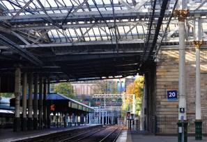 Waverley Bahnhof in Edinburgh