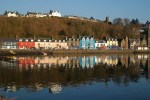 Waehrend der Bahnreise durch Schottland besteht die Option, die Insel Mull zu besuchen.