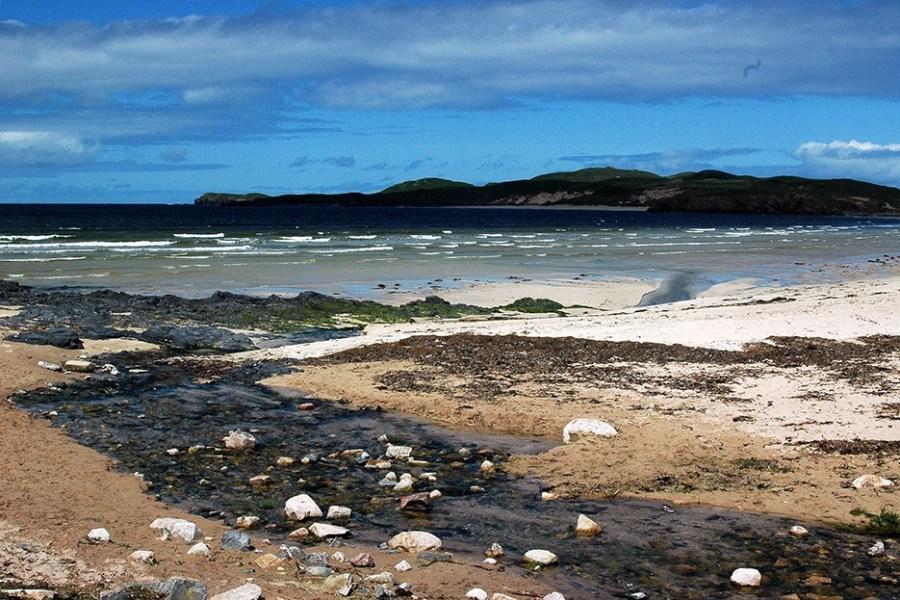Was waere eine Familienreise in Schottland ohne seine traumhaften Straende.