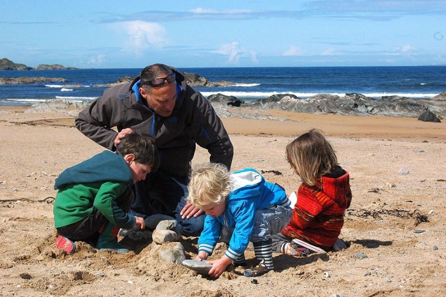 Schottland als Outdoor Paradies eignet sich fuer einen fantastischen Familienurlaub.