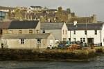 Stromness ist eine groessere Ortschaft auf Orkney, von der die Faehre unserer Individualtour ablegt.