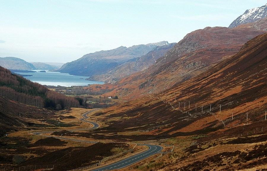 Da die North Highlands so abgelegen sind, eignen sich diese perfekt fuer individuelle Rundreisen.