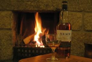 Schottischer Whisky schmeckt besonders an kalten Wintertagen im Schottlandurlaub.