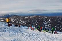 Im Winter kann man auch in Schottland Skifahren.