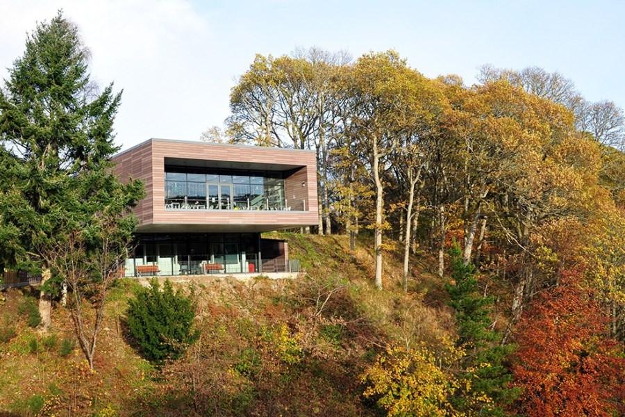 Auf unserer Standortreise Schottland haben Sie die Moeglichkeit, das Dam Visitor Centre in Pitlochry zu besuchen.