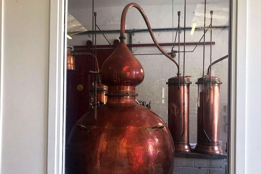 Der Eden Mill Distillery statten wir auf der Whiskyreise nach unserem Aufenthalt in St Andrews einen Besuch ab.