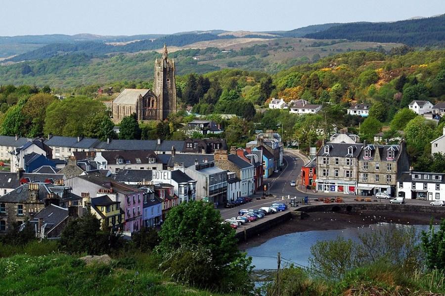 Der zweite und 3. Tag unserer Whiskyreise gehoert der Halbinsel Kintyre.