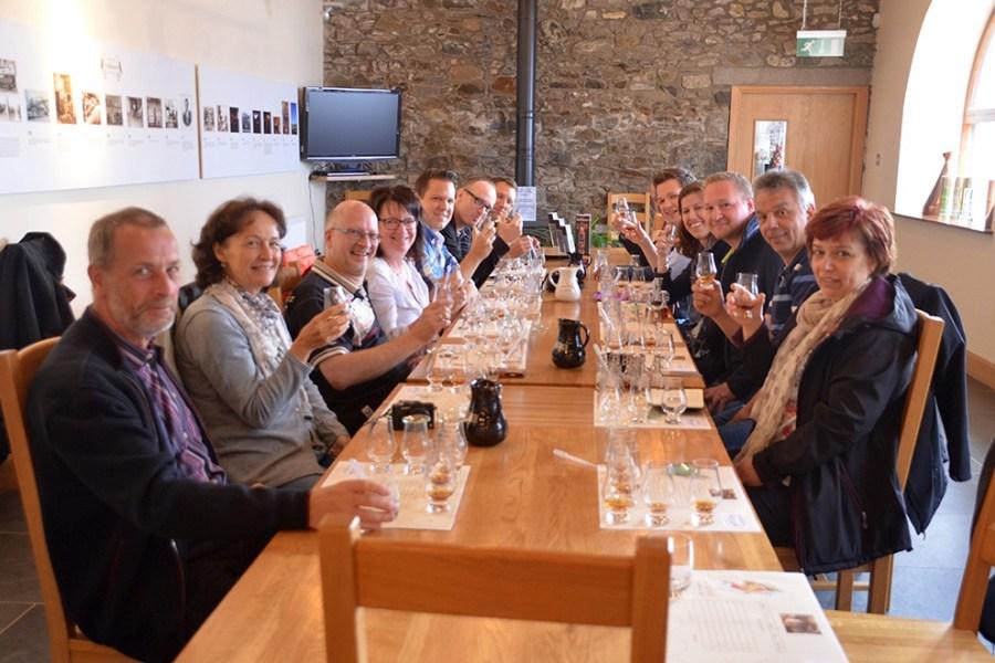 Unsere Whiskyreise Spreyside wird in Kleingruppen durchgefuehrt, was die Atmosphaere persoenlich macht.