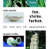 ton. steine. farben. Vernissage 20. Mai // Sommerausstellung im Künstlerhaus Zander in Drage