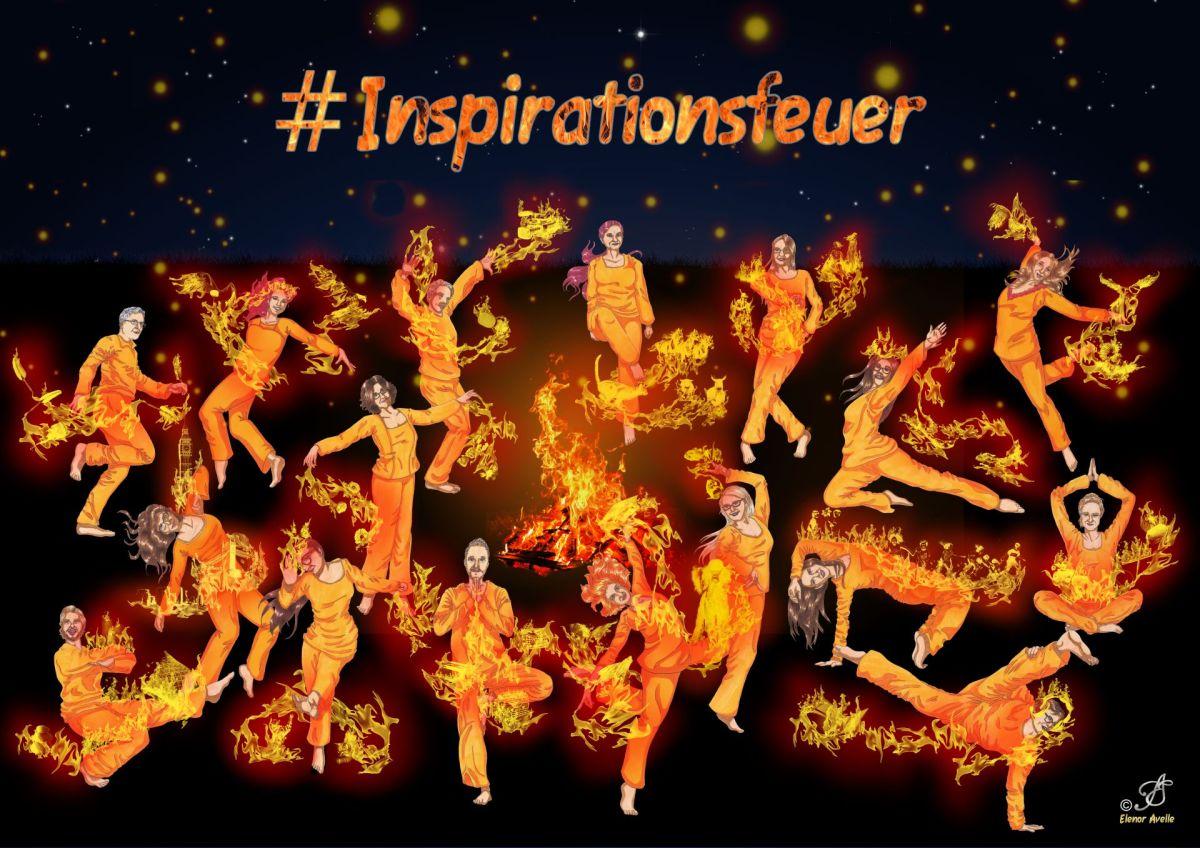 Startschuss zum #Inspirationsfeuer - macht mit bei unserer Blogparade
