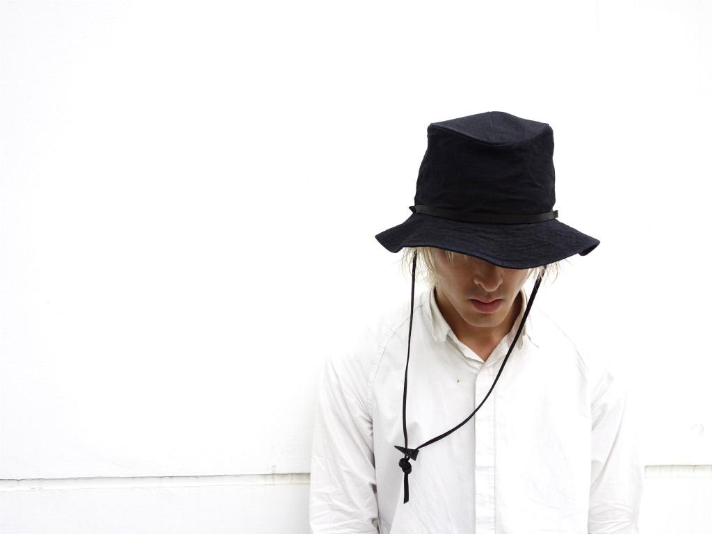 【WYATT】×【TERAI】 10oz DENIM ADVENTURE HAT.